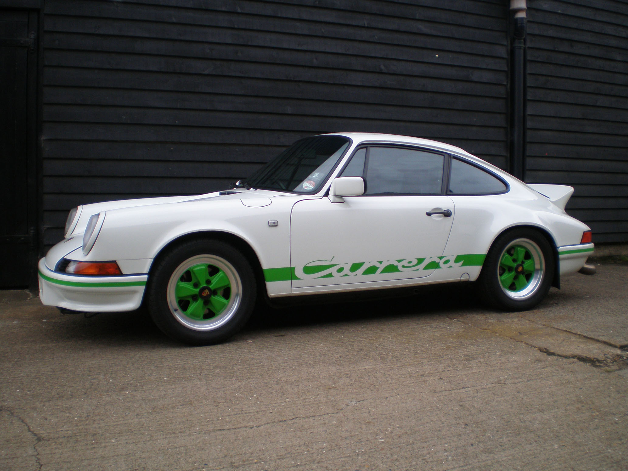porsche 911 3 2 carrera se coupe 2 7 rs evocation paul devyea porsche. Black Bedroom Furniture Sets. Home Design Ideas